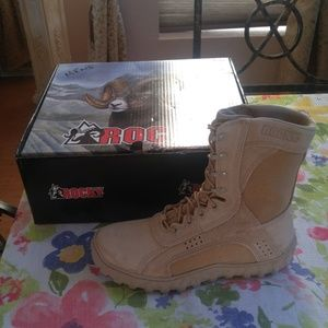Rocky Men's 10.5 Military Boots Never Worn